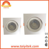 DEL mince superbe Integrated ronde et carrée Downlight de 5W-15W