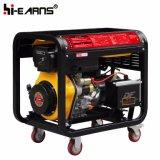 Air-Cooled тип открытой рамки тепловозный генератор (DG6000E3)