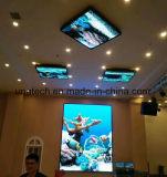 屋内フルカラーP4/5/6壁に取り付けられた固定は低い工場価格のLED表示スクリーンをインストールする