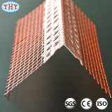 Esquina del PVC de la fibra de vidrio usada en la construcción de la esquina de la pared