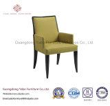 Самомоднейшая мебель гостиницы с обедать стул с драпированием ткани (9178)