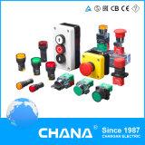 O interruptor de botão (CB2 e CB4 e CB5, AD22, AD16) Interruptor de Botão de pressão