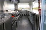 Aanhangwagen van de Keuken van de Kar van de Koffie van de Kar van de Catering van de hamburger de Mobiele met Towbar