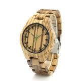 Reloj de madera de los productos únicos