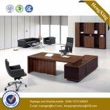 Eichen-Büro-Schreibtisch-Möbel L Form-hölzernes leeres Anfangsetikett (HX-TN194)