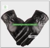 Размер Autumn&Winter верхних перчаток экрана касания PU людей способа надувательства средний