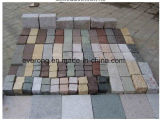 Pietra di pavimentazione esterna del ciottolo della Cina in vario colore per la strada privata