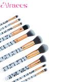 10 ПК Zabra дизайн макияж щетка для ежедневного макияжа щетки
