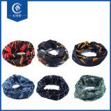 Bandanas sans joint multifonctionnels de Microfiber Headwear de polyester de qualité en gros