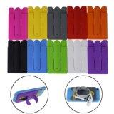 I bastoni universali del supporto del telefono astuto del basamento del silicone di tocco sopra appoggiano con la fessura per carta