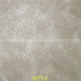 Couro sintético de PU de alta qualidade para tecidos de Sofá