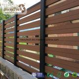 Cercado compuesto plástico de madera decorativo del jardín WPC