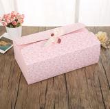 Rectángulo de regalo de los calcetines de la caja de embalaje de la ropa interior de encargo de la manera y de la ropa interior