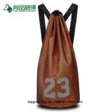 Personnaliser la corde de basket-ball de grande capacité de formation / sac à dos Sac avec lacet de serrage