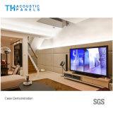 50mm Ecoのホーム装飾のための友好的なポリエステル線維の装飾的な衣類の音響のボード