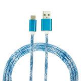 Trenzado de coloridos 3pies teléfono USB Cable de datos para el Tipo C