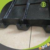 vloer van het Gietijzer van de Oppervlakte van 600*600mm de Vlotte Populair in Varkensfokkerij