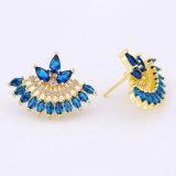 De Geplateerde Juwelen van de Oorring van de Overeenkomst van de Vrouwen van de Juwelen van Foxi 18K Goud
