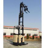 1.3ton-1.6ton Scissor Aufzug-Gabel-elektrischen anhebenden doppelten tiefen Reichweite-Gabelstapler