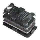 Amerika-Art-Riemen-Pistolenhalfter TPU PC hybrider kombinierter beweglicher Handy-Fall-rückseitiger Deckel für Fahrwerk G4 plus