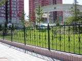 Полуфабрикат гальванизированные античные декоративные конструкции загородки ковки чугуна для сада