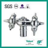 360度のステンレス鋼衛生回転式タンク洗剤