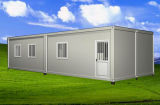 20FT combinou a casa modular do recipiente do bloco liso/Home