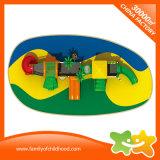 Le matériel en plastique de jeu de la place des enfants glisse en vente
