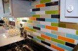 """4""""x12""""/10x30cm Metro Bisel satinado rojo mosaico para el cuarto de baño y cocina Decoración"""