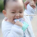 Livre de BPA mordedor mastigáveis leve e durável de Silicone Owl dentição do bebê Mitt
