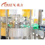 Máquina de embotellado no gasificada del vidrio de leche del vino del jugo de la bebida