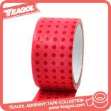 La decoración de paquete rojo cinta adhesiva de tela, cintas de tela