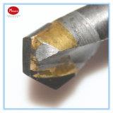Dígito binario de taladro de torcedura del carburo de tungsteno del acero inoxidable