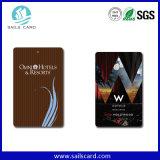 cartões de 13.56MHz RFID para o cartão chave do hotel