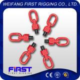 Оборудование оснащая сверхмощное покрашенное красное круглое кольцо шарнирного соединения подъема винта соединения