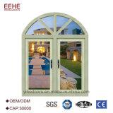 O lado horizontal da abertura pendurou o Casement Windows da casa