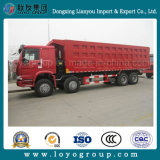 Camion à benne basculante de Sinotruk HOWO-A7 12wheeler 371HP 420HP 25-30m3