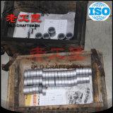 Peça mecânica da máquina do carboneto de tungstênio