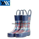 新式の印刷はハンドルが付いているウェリントンの雨靴をからかう