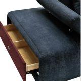Sofá simples moderno para a mobília da sala de visitas (G7607B)