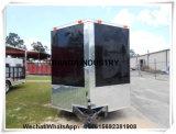 De v-vormige Kiosk van de Bestelwagens van de Vrachtwagen van de Keuken van de Verkoop van het Voedsel Mobiele van China Qingdao