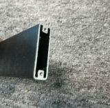 6063t5 het poeder bedekte de Zwarte Uitdrijving van het Aluminium/van het Aluminium met het Machinaal bewerken met een laag