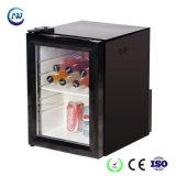 A luz de LED pequeno visor de bebidas de mesa personalizados vertical freezer (JGA-SC21)