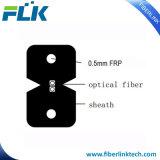 Câble de fibre optique d'intérieur de Communicaton de baisse de faisceaux du plat 2 de FTTH
