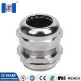 De metal resistente al agua Hnx prensaestopas de latón niquelado M8-M120.