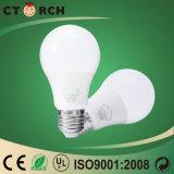 El mejor bulbo de la calidad 7W LED Dimmable de Ctorch. Triac del LED que amortigua la luz con la UL