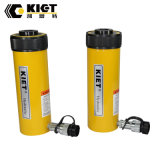 (KET-RCH) ou simple effet vérin hydraulique du piston creux