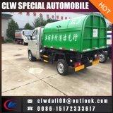 중국 소형 오두막 이동할 수 있는 쓰레기 트럭 당기 팔 쓰레기 트럭