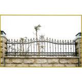 Сборные оцинкованных старинные декоративные ограды из кованого железа Проекты для сада
