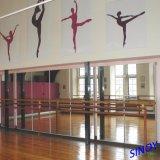 Espelho de Parede traseira de vinil para ginásio ou sala de dança